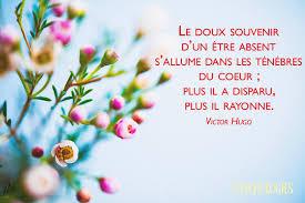 pour toi Amie, toi la maman, ces belles parole de Victor Hugo.