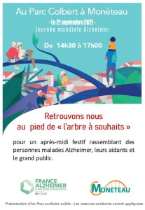 Affiche arbre Monéteau
